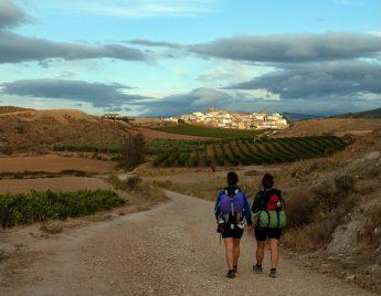 adelgazar en el Camino de Santiago